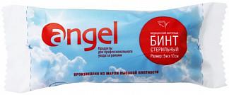 Ангел бинт стерильный медицинский марлевый 5мх10см