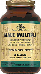 Солгар мультивитаминный и минеральный комплекс для мужчин таблетки 60 шт.