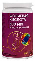 Фолиевая кислота капсулы 300мкг 60 шт.
