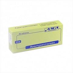 Амитриптилин 10мг n50 таб.