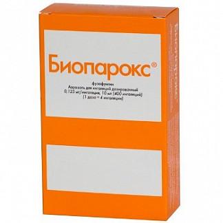 Биопарокс 400доз 10мл аэрозоль