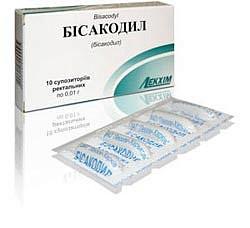 Лекарство бисакодил
