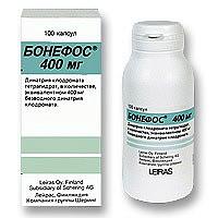 Бонефос 400мг 100 шт. капсулы