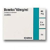 Бонефос 60мг/мл 5мл 5 шт. концентрат для приготовления раствора для инфузий