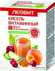 Леовит биоинновации кисель диетический витаминный форте 20г 5 шт.
