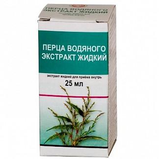 Перец водяной 25мл экстракт жидкий для приема внутрь