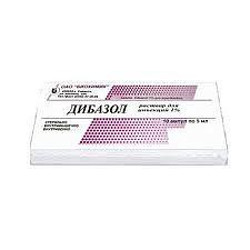 Дибазол 1% 5мл 10 шт. раствор для инъекций