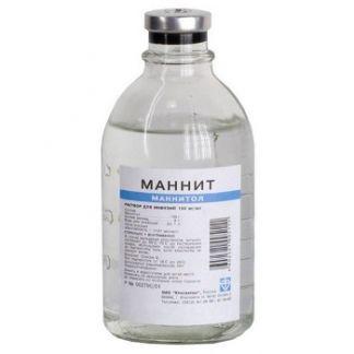 Маннит 15% 200мл р-р д/инфузий