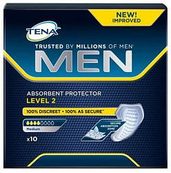 Тена мен уровень 2 вкладыши для мужчин 10 шт.