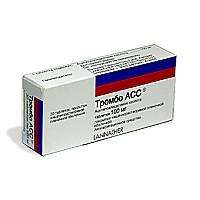 Тромбо асс 100мг 30 шт. таблетки