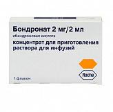 Бондронат 2мг/2мл n1 концентрат д/приготовления р-ра д/инфузий
