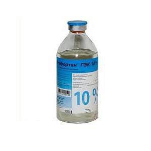 Рефортан гэк 10% 500мл 10 шт. раствор для инфузий