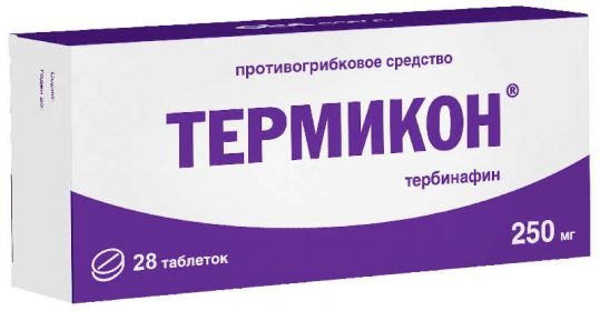 Термикон 250мг 28 шт. таблетки, фото №1