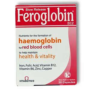 Фероглобин-b12 30 шт. капсулы