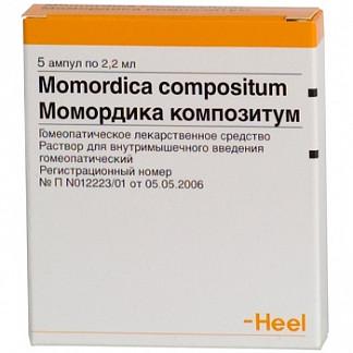 Момордика композитум 2,2мл 5 шт. раствор ампулы biologische heilmittel heel gmbh