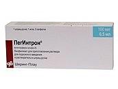 Пегинтрон 100мкг 1 шт. лиофилизат для приготовления раствора для подкожного введения флакон