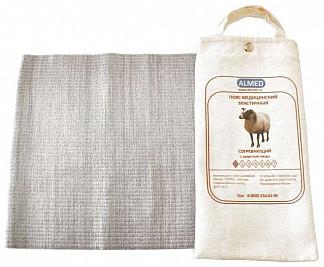Альмед пояс эластичный согревающий с шерстью овцы разъемный размер 6/xxl (99-109см)