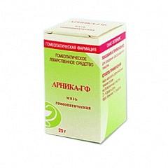 Арника-гф 25г мазь для наружного применения гомеопатическая