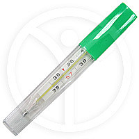 Термометр медицинский ртутный в футляре 1 шт.