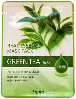 Джей луна маска для лица для проблемной кожи зеленый чай 1 шт.