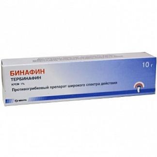 Бинафин 1% 10г крем
