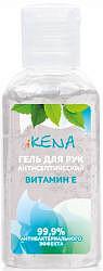 Икена гель для рук антибактериальный с витамином е 60мл