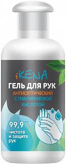 Икена гель для рук антисептический с гиалуроновой кислотой 50мл