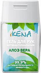 Икена гель для рук антибактериальный алоэ вера 50мл