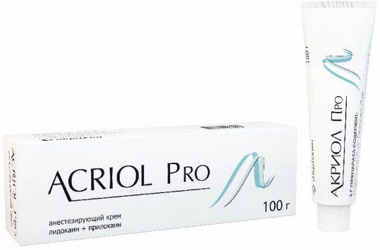 Акриол про 2,5%+2,5% 100г крем для местного/наружного применения, фото №1