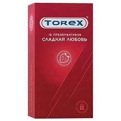 Торекс презервативы сладкая любовь 12 шт.
