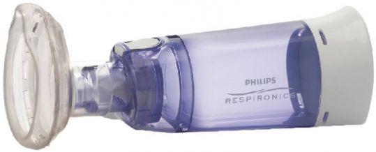 Спейсер филипс респироникс оптичамбер даймонд с маской малого размера, hh1330/00, фото №1