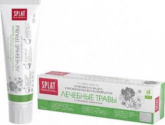 Сплат профешнл зубная паста лечебные травы 100мл