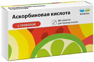 Аскорбиновая кислота с глюкозой 30 шт. таблетки
