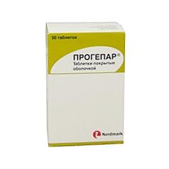 Прогепар 50 шт. таблетки nordmark arzneimittel gmbh & co.kg