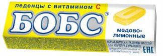 Бобс леденцы бад медово-лимонные 35г