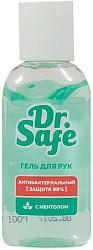 Доктор сейф гель для рук косметический с антибактериальным эффектом с ментолом 60мл химсинтез