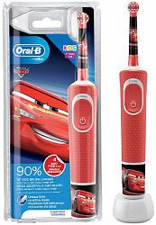 Орал-би виталити зубная щетка электрическая детская тачки d100.413.2k (тип 3710)