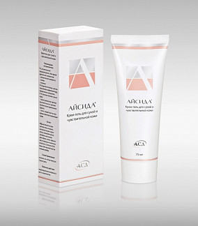 Айсида крем-гель для лица/тела для сухой/чувствительной кожи 75мл