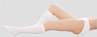 Венотекс гольфы компрессионные женские с открытым носком 1кл. 1а100 (400) m белый