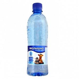 Вода минеральная для детей малышка 0,5л