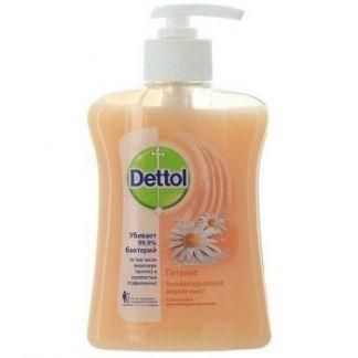Деттол мыло жидкое д/рук питание ромашка/молочко 250мл
