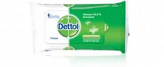Деттол салфетки для рук антибактериальные 10 шт.