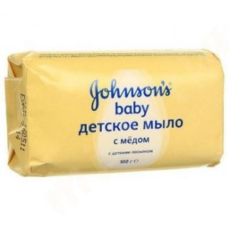Джонсонс беби мыло мед 100г