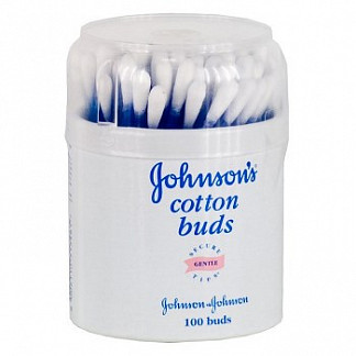 Джонсонс беби ватные палочки 100 шт.