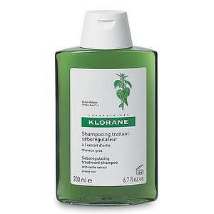 Клоран шампунь для жирных волос себорегулирующий с крапивой 200мл