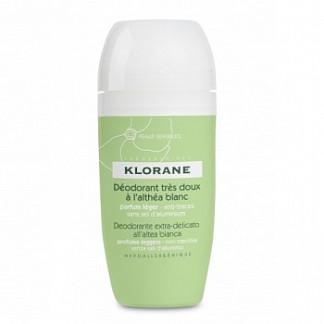 Клоран дезодорант шариковый сверхмягкий с белым алтеем 40мл kloran