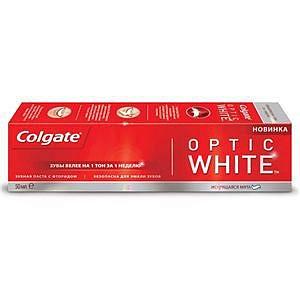 Колгейт оптик уайт зубная паста 50мл