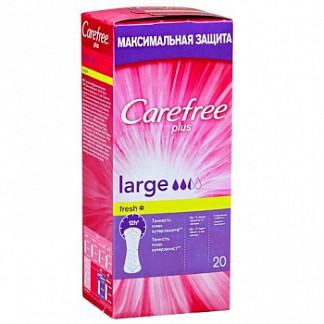 Кэфри плюс прокладки ежедневные ароматизированные ладж фреш 20 шт.