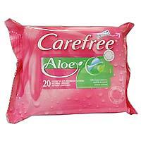 Кэфри салфетки влажные для интимной гигиены алоэ 20 шт.