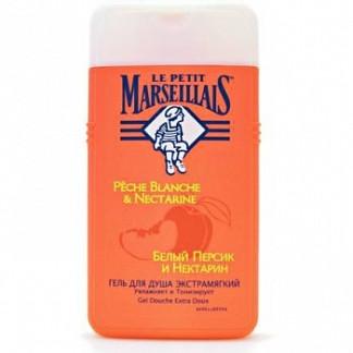 Маленький марселец гель для душа белый персик/нектарин 250мл